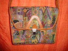 Vintage Handtaschen - Tasche*Vintage*bunt*ethno*Mustermix* - ein Designerstück von SweetSweetVintage bei DaWanda