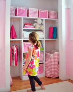 now that's an organized closet! a little bare right now but so many possibilities, I think I need one just like it :)