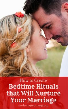 How to Create Bedtime Rituals that Will Nurture Your Marriage - Think back to when you were newlyweds - bedtime was exciting, looked forward to, and special. Fast forward ten, twenty, or forty years later, and you may have unintentionally slipped into some bedtime habits that aren't helping your marriage. In fact, they may be hurting it. Do you and your spouse go to bed at different times? Spend time surfing the internet or social media on your phones instead of connecting, or sleep in…