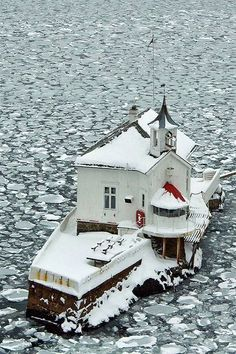 "The Old lighthouse ""Dyna"" in the Oslofjord - Oslo, Norway (by Esbjörn Strid)"