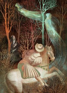 """ANNA+ELENA=BALBUSSO """"The Canterbury Tales"""" by Geoffrey Chaucer , Black cat Publishing"""