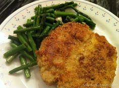 Easy Paleo Almond Crusted Pork Loin Chops #pork #paleo