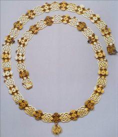 Spain, Golden Fleece Order, collar L. 116cm, pendant 28 x 24 mm, belonged to king João VI of Portugel, Spada Collection. Rev.
