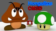 Para quienes jugamos Mario Bros, modelado 3D de algunos de sus simpaticos personajer!