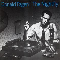 Lead singer and co-founder of Steely Dan, Donald Fagen offered his first solo album, The Nightfly, in October The album is a nostalgic rendering of late jazz-infused pop. Fittingly, the typeface on the cover—News Gothic—is one of the more popular of Lps, Greatest Album Covers, Rock Album Covers, Jazz, Neil Young, Lp Vinyl, Vinyl Records, Vinyl Music, Music Lyrics