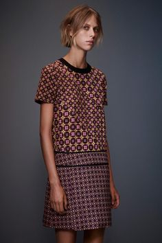 Victoria by Victoria Beckham Collection - Great print combination!