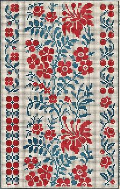 antique floral borders