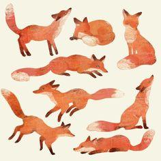 A White Blank Page Animal Drawings, Cute Drawings, Fuchs Illustration, Academic Drawing, Fox Drawing, Fox Art, Cute Fox, Fox Design, Art Graphique