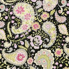 Google Image Result for http://www.babybedding.com/fabric/black-and-pink-paisley-fabric.jpg