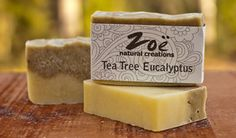 Tea Tree Eucalyptus Bar Soap
