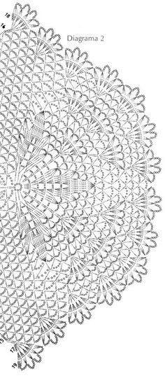 Schal rosa - Dreiecktuch häkeln - crochet ... 3
