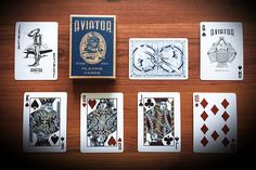 Image result for aviator playing cards dan
