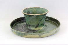 This Blossom dip dish and cake stand has a dual purpose. Use it as a dip bowl and dish to hold your favourite munchies or flip it over and use the decorative s Chinese Design, Ceramic Artists, Dips, Pottery, Clay, Ceramics, Tableware, Hall Pottery, Hall Pottery
