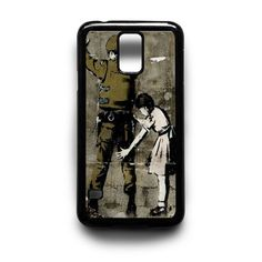 banky army and girl Samsung Galaxy S3 S4 S5 Note 2 3 4 HTC One M7 M8 Case