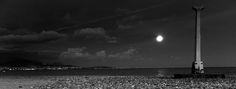 Moon on the beach Follow me on www.lightinzebox.com
