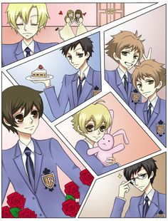 Ouran Host Club by umaichococookie.deviantart.com on @deviantART