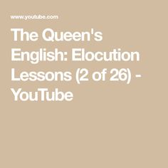 Image result for queen's english