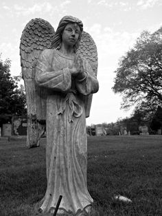 Angel Statue, Calvary Cemetery, Dudley, MA