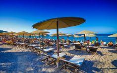 Elli beach, Rhodes, Greece - http://rhodos.gr/beaches/elli-beach/