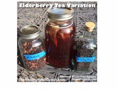 Bountiful Beverage Recipe: Healthy Lung Support with Elderberry Sun Tea Variation: It's spring here in the desert and will be where you are too sometime. We LOVE our Elderberry Sun Tea with delicious variations like adding dried Hibiscus and Blueberries. Take a glass jar and add your dried herbs/berries. Use spring or filtered water and place in sunshine. Hint: if it's still too cold where you live use hot water and a place in a window sill.