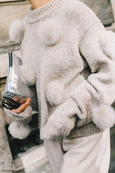 Fluffy sweater of our dreams.