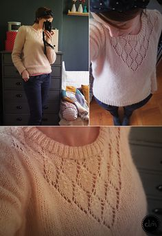 *Free pattern- Ravelry. Could sew in a thin layer of fabric if it is too sheer in the lace work.