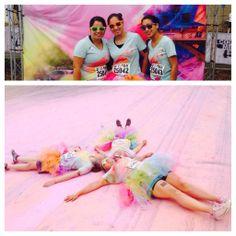 @Color Me Rad 5K #doradstuff #BeforeAndAfter #dyeangels pic.twitter.com/RiUsU74f9c