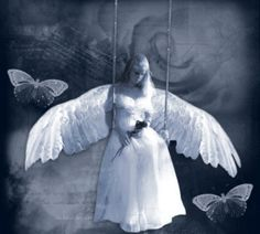 Let not sadness grace a angels face.