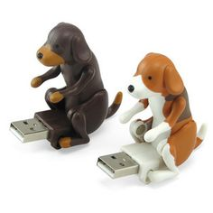 $8 hilarious! USB humping dogs. excellent present for the boss