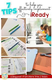 iReady is a technology based program used to improve  students Reading and Math performance. However, in order for it to work, you have to know how to effectively monitor and track students' progress. This post has great ideas on how to do this in order to ensure your kiddos succeed.