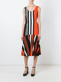 Dolce & Gabbana Vestido listrado