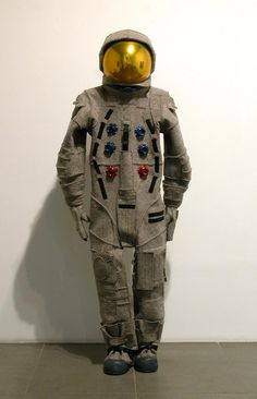 Matthew Day Jackson, artist 'Apollo Space Suit (after Beuys)', 2008 Wool, felt, aluminum, steel, plastic Dimensions variable: 197 cm / 77 1/2 in