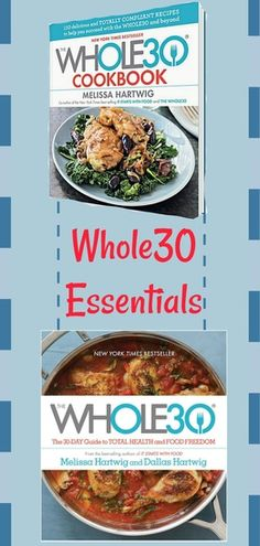 Guide and cookbook for the Whole 30! Tips, Tricks, and Recipes included. Could not have gotten through my Whole30 without them,! #Whole30 #diet #healthy #paleo #glutenfree #dairyfree #foodfreedom #affiliate #whole30tips #whole30tricks