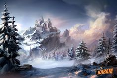 ArtStation - The snow capped mountains, Yin Wang