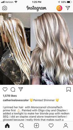 Best Indoor Garden Ideas for 2020 - Modern Blonde Hair Looks, Brown Blonde Hair, Blonde Fall Hair Color, Black Hair, Hair Color Techniques, Hair Color And Cut, Hair Highlights, Thick Blonde Highlights, Color Highlights