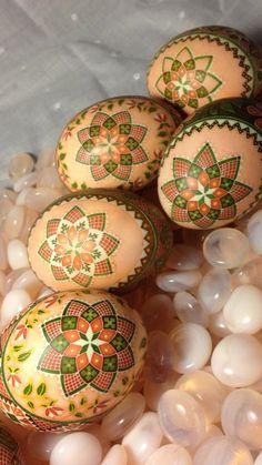 PysankyUSA Colorama Dyes on Duck Eggs by Katrina Lazarev