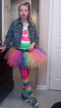 80's costume inspired by valley girl costume.