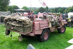 ¿Por qué este 4x4 de guerra acabó pintado de rosa?