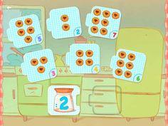 Wat leert je kind van deze app:  Logisch denken Tellen en cijfers Doelgroep: 3 -6 jaar