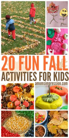20 Fun Fall Activities for Kids - A Mom's Impression | Recipes, Crafts, Entertainment and Family Travel