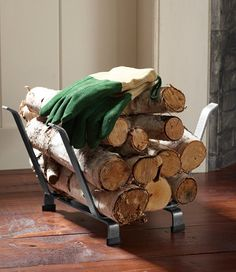 L.L.Bean Hearthside Log Rack:  $99.95