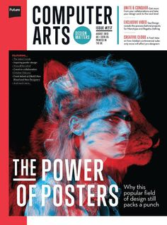 COMPUTER ARTS print and interactive Ipad magazine http://www.creativebloq.com/computer-arts-magazine