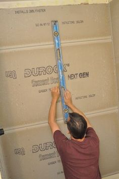 Welcome back to our latest Pro-Follow update. Last time we left off, Steve Wartman and his crew had finished installing the bathroom fan, and the previous day they had hung concrete board in the shower and Fir plywood over the subfloor. At this point, the bathroom is ready for tile, and Steve called in Rick Smith and his crew to tile the shower and bathroom floor. Rick brings over 30 years of experience, and coincidentally Rick is the contractor that tiled my master bathroom several years…