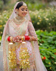 """@dholtodoli: """"Swooning over those breezy sorbet colours!! Such pretty hues... perfect for a summer Anand Karaj!!…"""" Indian Wedding Outfits, Bridal Outfits, Bridal Dresses, Bridal Looks, Bridal Style, Bridal Bangles, Bridal Jewellery, Jewelry, Function Dresses"""