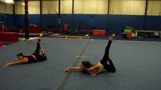 Gymnastics Floor Routine, Gymnastics Games, Gymnastics Floor Music, Gymnastics Levels, Gymnastics Training, Gym Games, Gymnastics Videos, Dance Choreography Videos, Coaching