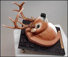 help making antlers for deer cake