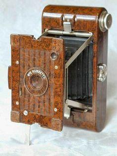 Kodak Hawkette No 2 camera, made from beautiful marbled brown bakelite