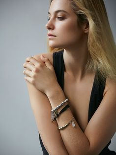 Free People Vance Leather Bracelet Set, $28.00
