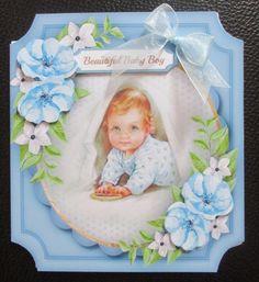 Beautiful Baby Boys Birth or 1st Birthday by Davina Rundle