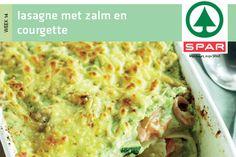 Lasagne met zalm en courgette - Spar.nl